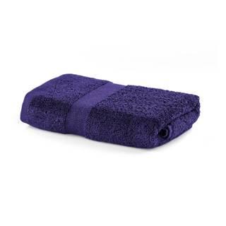 Fialový uterák DecoKing Marina, 50×100 cm