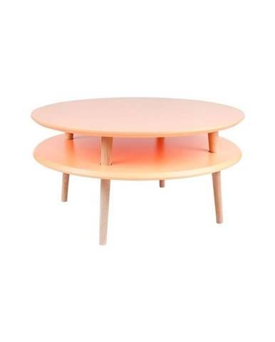 Oranžový konferenčný stolík Ragaba UFO, ⌀70 cm