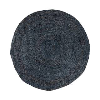 Tmavosivý okrúhly koberec HoNordic Bombay, ø 150 cm