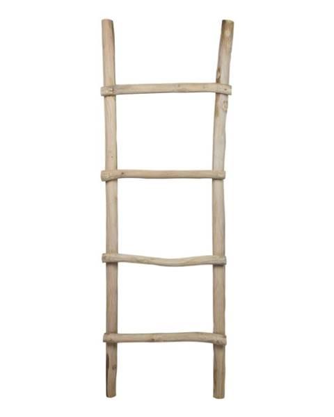 HSM collection Dekoratívny rebrík z teakového dreva HSM collection Demio
