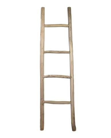 Dekoratívny rebrík z teakového dreva HSM collection Fallo