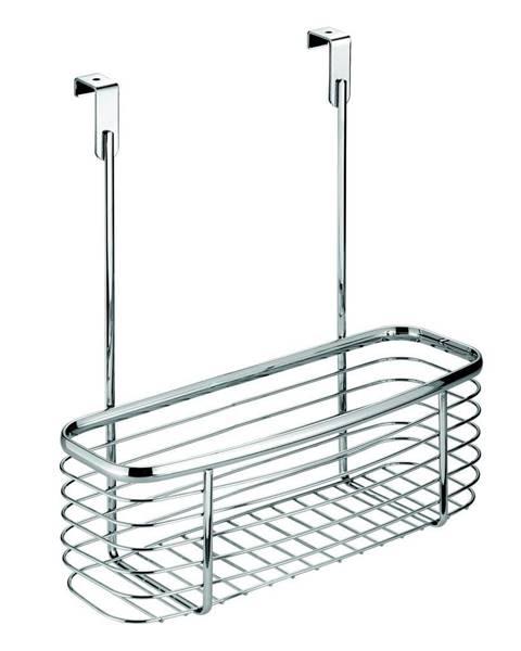iDesign Kovový košík na kuchynské dvierka iDesign Axis Basket