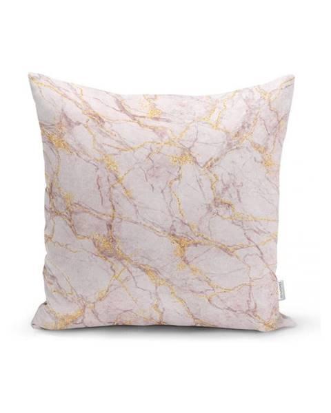 Minimalist Cushion Covers Obliečka na vankúš Minimalist Cushion Covers Soft Marble, 45 x 45 cm