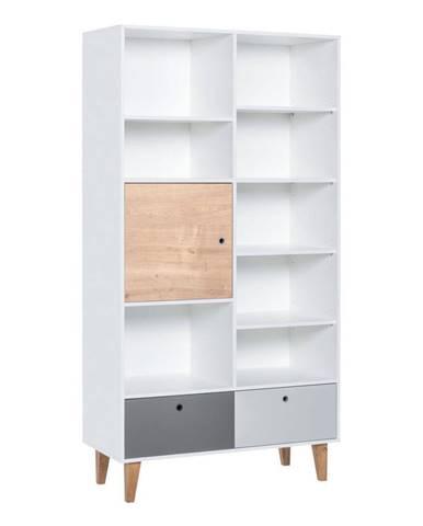 Knižnica Vox Concept Naturale, 105 x 201,5 cm