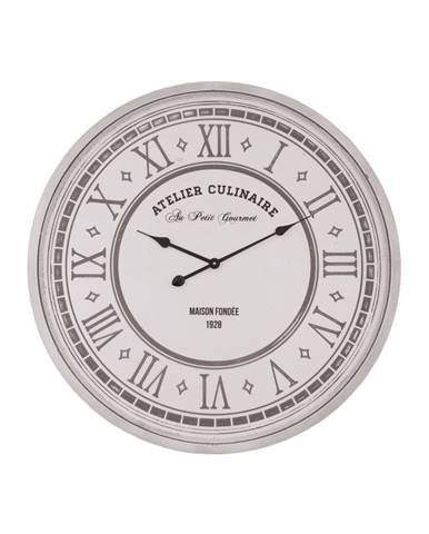 Nástenné hodiny Antic Line Atelier Culinaire, ⌀ 80 cm