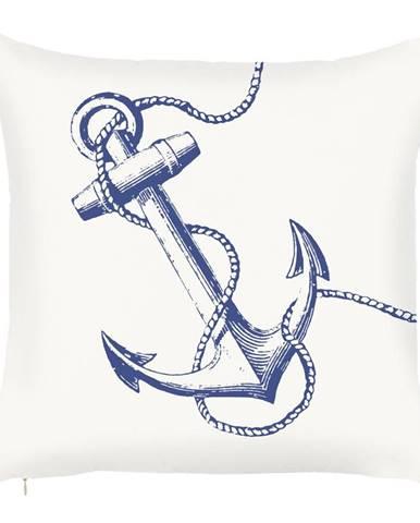 Obliečka na vankúš Mike&Co.NEWYORK Sailors Anchor, 43 × 43 cm
