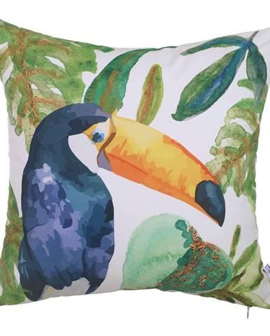 Obliečka na vankúš Mike&Co.NEWYORK Toucan Paradiso, 43 × 43 cm