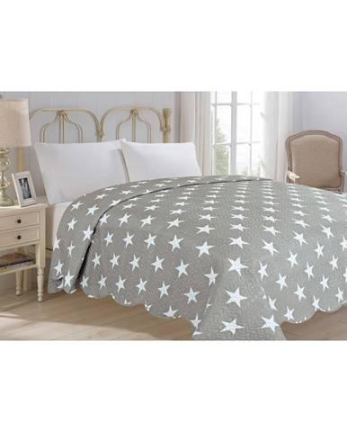 Prikrývka cez posteľ JAHU Collection STARS, 220×240 cm