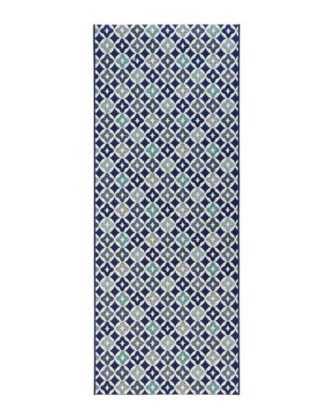 Zala Living Modrý kuchynský behúň Zala Living Reflect, 80×200 cm
