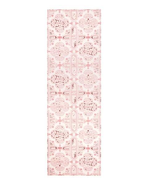 Hanse Home Ružový kuchynský behúň Zala Living Cook and Clean, 45×140cm