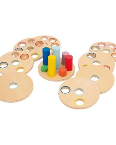 Motorická vedomostná skladačka Legler Plug-in Game