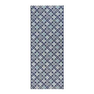 Modrý kuchynský behúň Zala Living Reflect, 80×200 cm