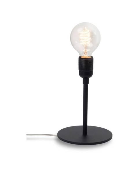 Bulb Attack Čierna stolová lampa Bulb Attack Uno Basic