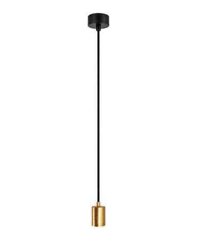 Závesné svietidlo v zlatej farbe Bulb Attack Cero Basic
