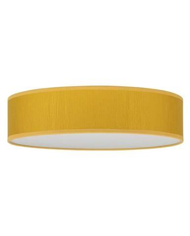 Žlté stropné svietidlo Bulb Attack Doce, ⌀ 40 cm
