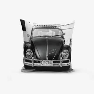 Obliečka na vankúš s prímesou bavlny Minimalist Cushion Covers Vosvos, 45 × 45 cm