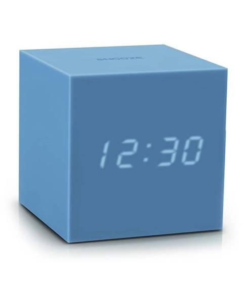 Gingko Modrý LED budík Gingko Gravitry Cube