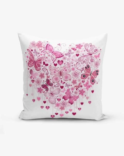 Minimalist Cushion Covers Obliečky na vaknúš s prímesou bavlny Minimalist Cushion Covers Hearty, 45×45 cm