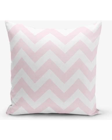 Ružová obliečka na vankúš Minimalist Cushion Covers Stripes, 45×45 cm
