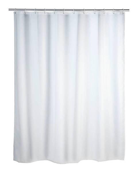 Wenko Biely sprchový záves s protiplesňovou povrchovou úpravou Wenko, 180×200 cm