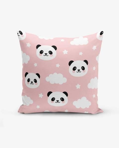 Minimalist Cushion Covers Obliečka na vankúš Minimalist Cushion Covers Panda, 45 × 45 cm