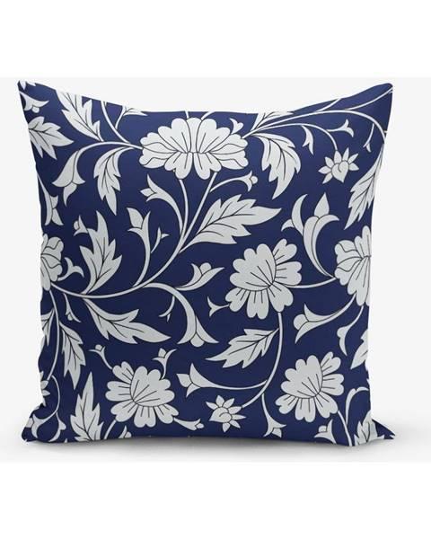 Minimalist Cushion Covers Obliečka na vankúš s prímesou bavlny Minimalist Cushion Covers Flora, 45×45 cm