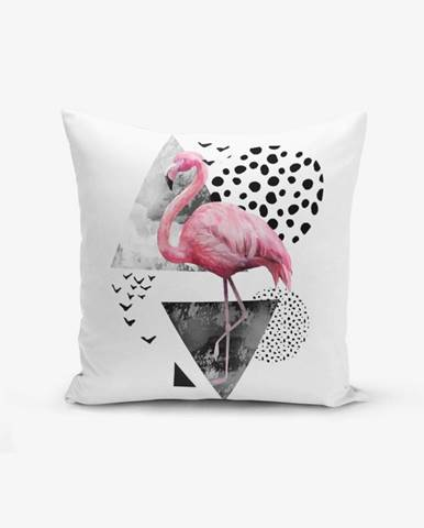 Obliečka na vankúš Minimalist Cushion Covers Martı Flamingo, 45 × 45 cm