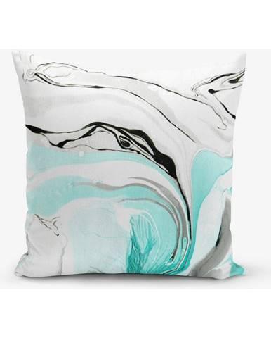 Obliečka na vankúš s prímesou bavlny Minimalist Cushion Covers Ebru, 45×45 cm