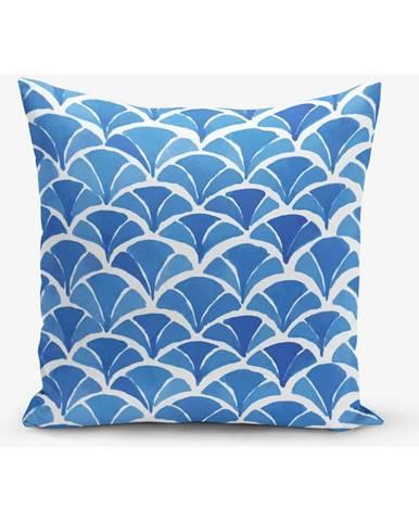 Obliečka na vankúš s prímesou bavlny Minimalist Cushion Covers Geometric, 45×45 cm