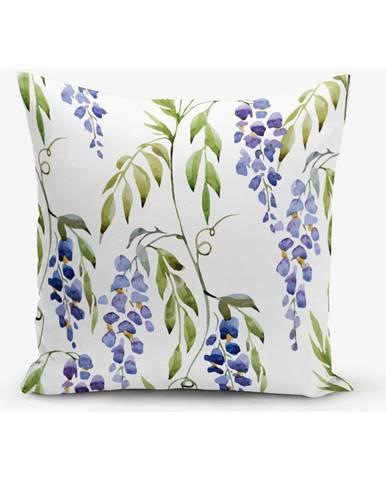 Obliečka na vankúš s prímesou bavlny Minimalist Cushion Covers Hyacint, 45×45 cm