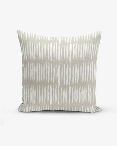 Obliečka na vankúš s prímesou bavlny Minimalist Cushion Covers Kahan, 45×45 cm