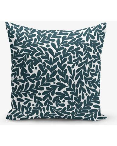 Obliečka na vankúš s prímesou bavlny Minimalist Cushion Covers Leaf, 45×45 cm