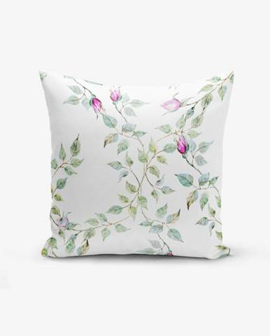 Obliečka na vankúš s prímesou bavlny Minimalist Cushion Covers Roseler, 45×45 cm