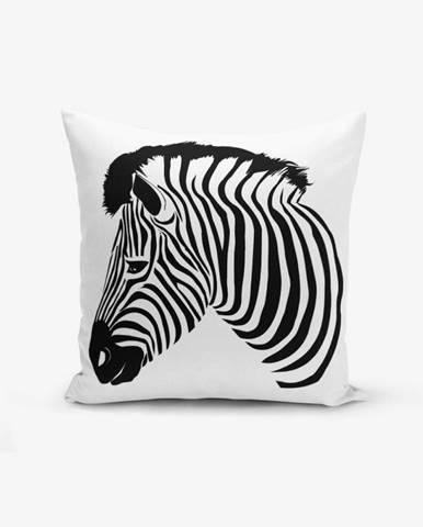 Obliečka na vaknúš Minimalist Cushion Covers Zebra, 45×45 cm