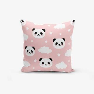 Obliečka na vankúš Minimalist Cushion Covers Panda, 45 × 45 cm