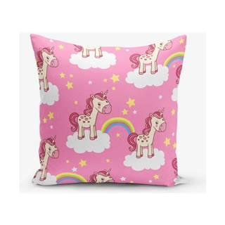 Obliečka na vankúš s prímesou bavlny Minimalist Cushion Covers Pempe, 45×45 cm