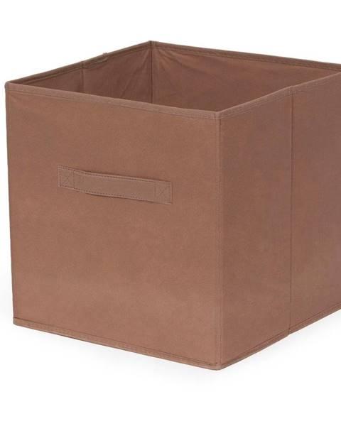 Compactor Hnedý skladací úložný box Compactor Foldable Cardboard Box