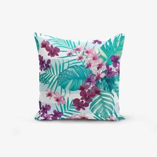 Obliečka na vankúš Minimalist Cushion Covers Lilac Flower, 45 × 45 cm