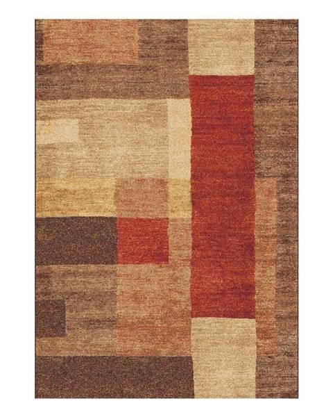 Universal Hnedý koberec Universal Delta, 57 × 110 cm