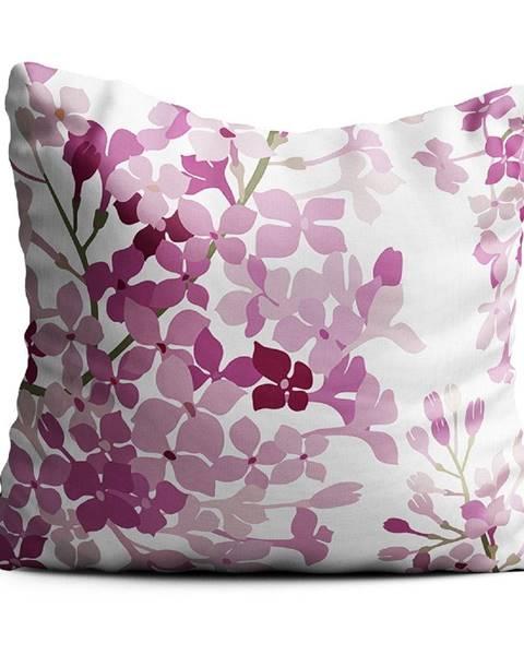 Oyo home Růžový polštář Oyo home Valeria, 40x40cm