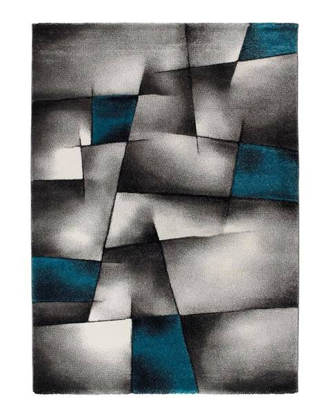Universal Modro-sivý koberec Universal Malmo, 60x120cm