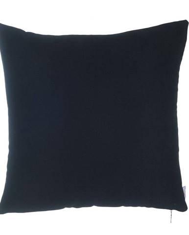 Čierna obliečka na vankúš Mike&Co.NEWYORK Simple, 43 × 43 cm