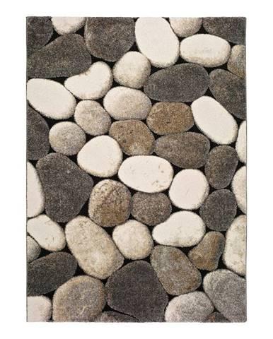Sivý koberec Universal Pebble, 140×200 cm