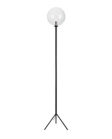 Čierna voľne stojacia lampa Markslöjd Andrew Floor Black