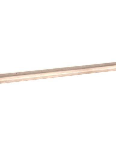 Matne lakovaná dubová polička na obrázky Rowico Metro, dĺžka 100 cm