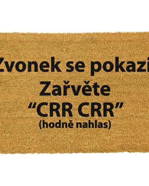Artsy Doormats Rohožka z prírodného kokosového vlákna Artsy Doormats Crr!, 40 x 60 cm