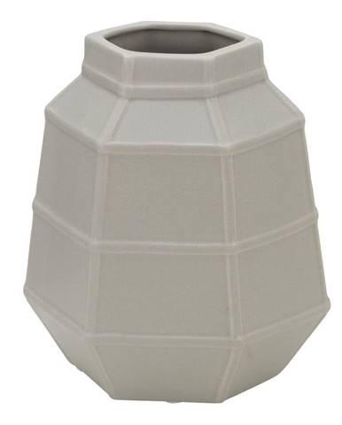 Béžová porcelánová váza Mauro Ferretti Lumiere