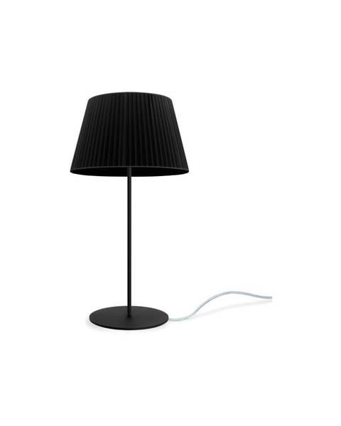 Sotto Luce Čierna stolová lampa Sotto Luce KAMI Elementary M 1T