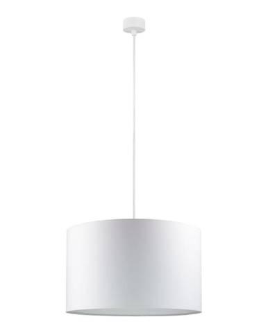 Biele závesné svietidlo Sotto Luce Mika, ∅ 40 cm