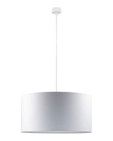 Biele závesné svietidlo Sotto Luce Mika, ∅ 50 cm